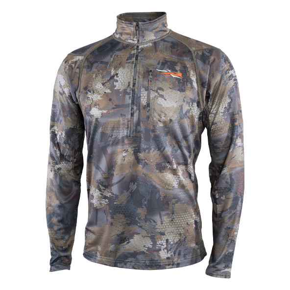 Core Mid Weight Zip-T Timber-1
