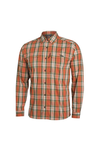Long Sleeve Globetrotter Shirt Canyon Plaid