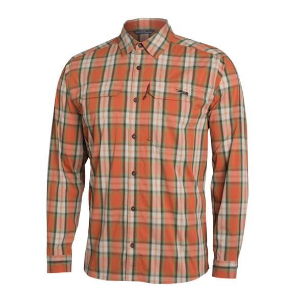 Long Sleeve Globetrotter Shirt Canyon Plaid-1