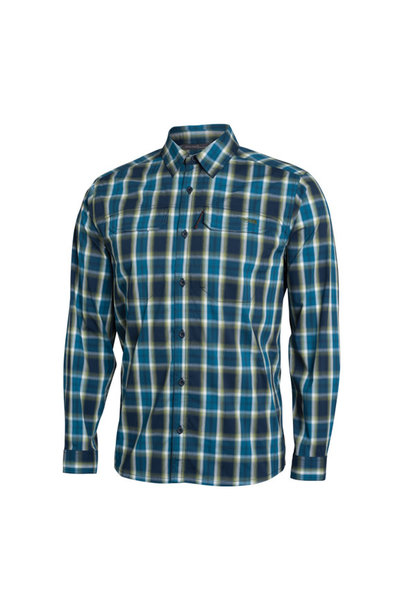 Globetrotter Long Sleeve Pond Plaid