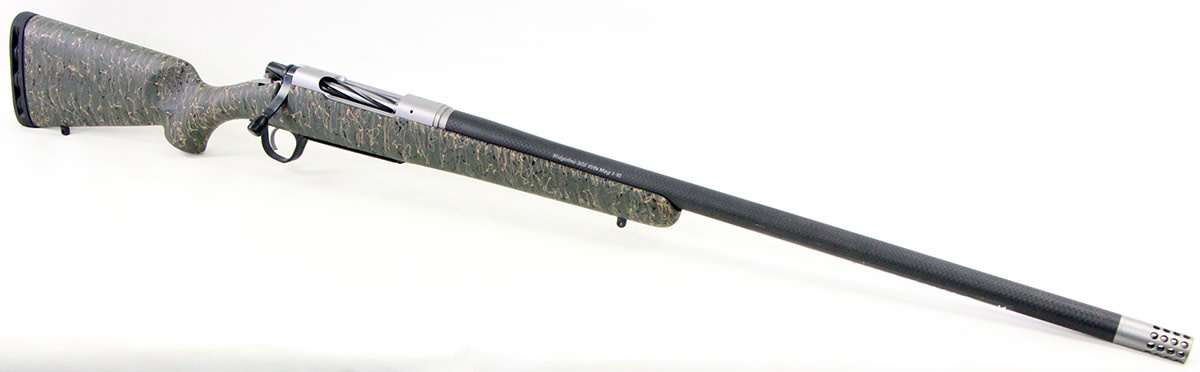 Christensen Ridgeline 300 WSM Green Black and Tan Stock-1