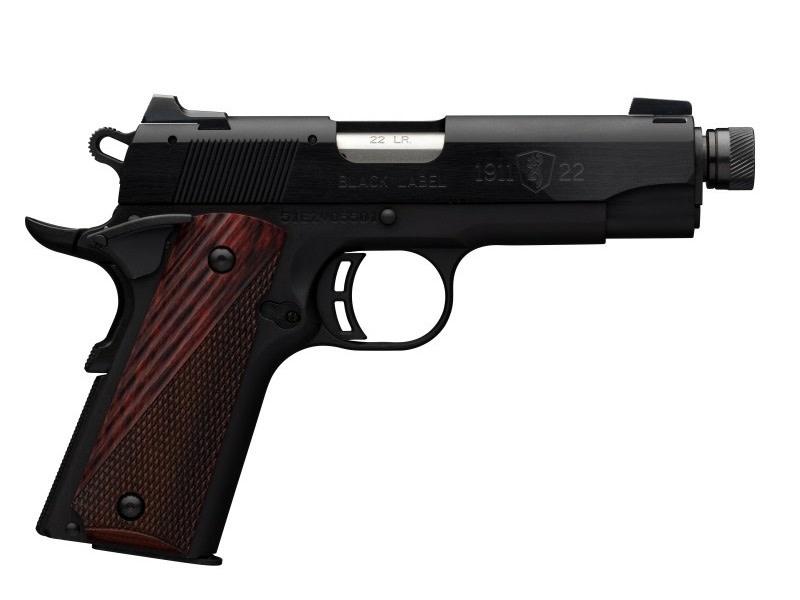 Browning Pistol 22 LR 1911 BL MED SIR CMP 3DT-1