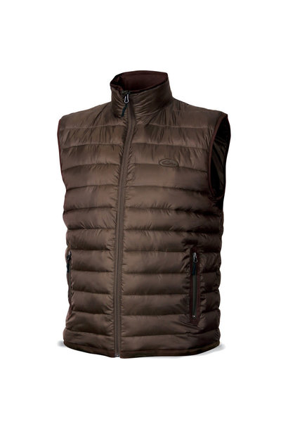 Double Down Vest Pintail Brown