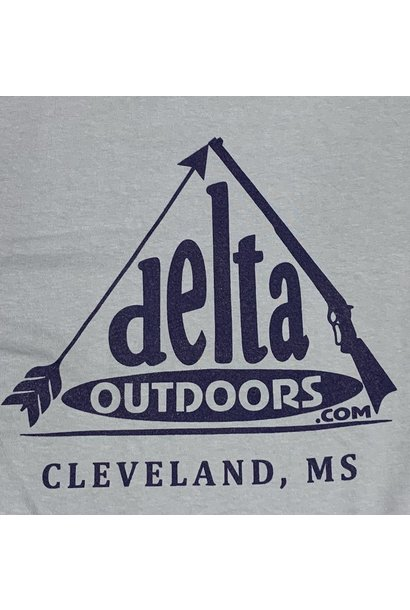 Delta Outdoors Grey/Navy Long Sleeve