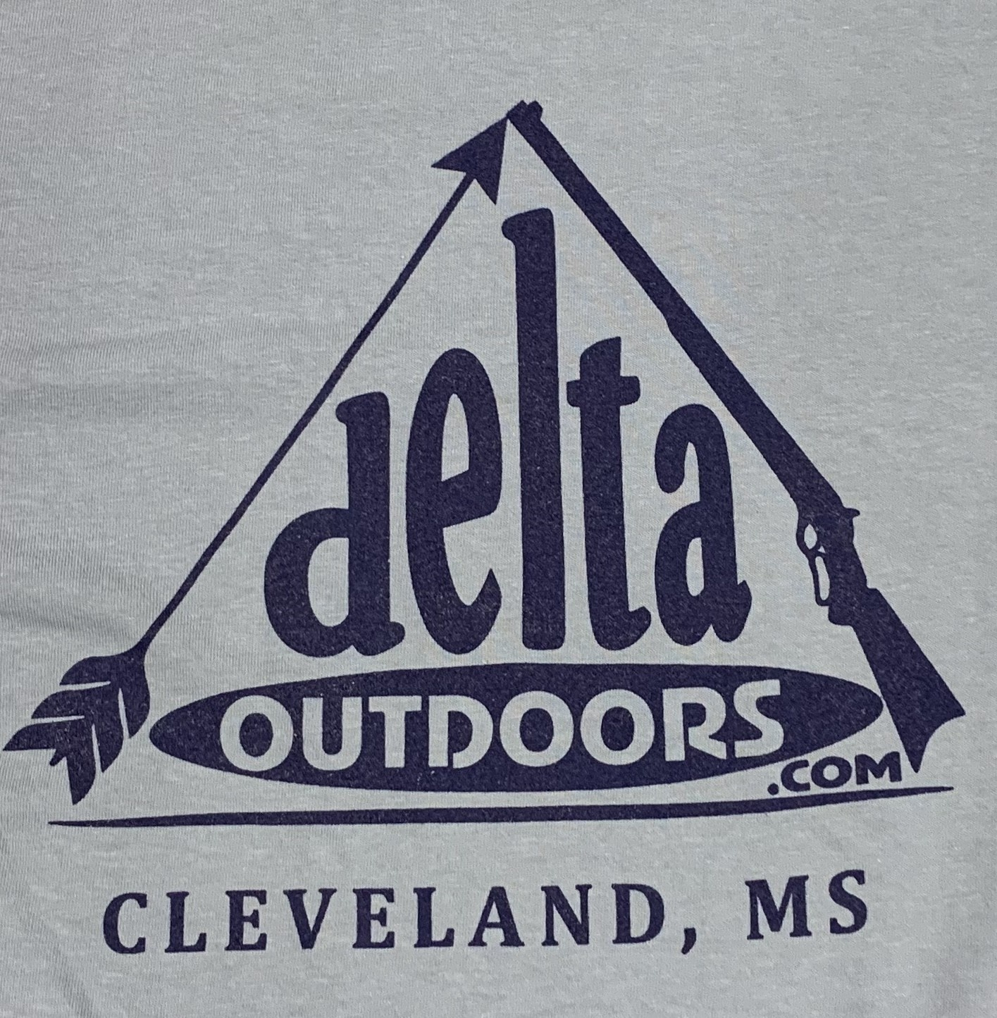 Delta Outdoors Grey/Navy Long Sleeve-1