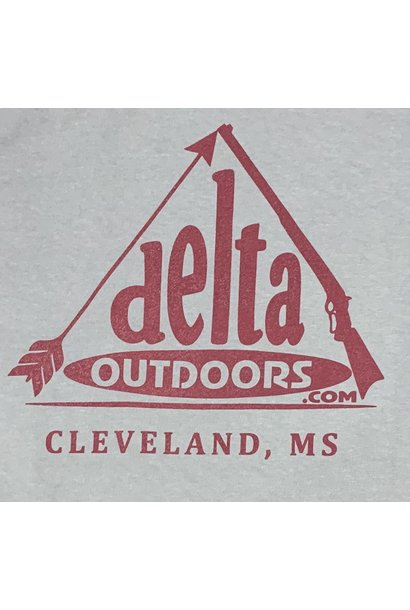 Delta Outdoors Grey/Maroon Long Sleeve