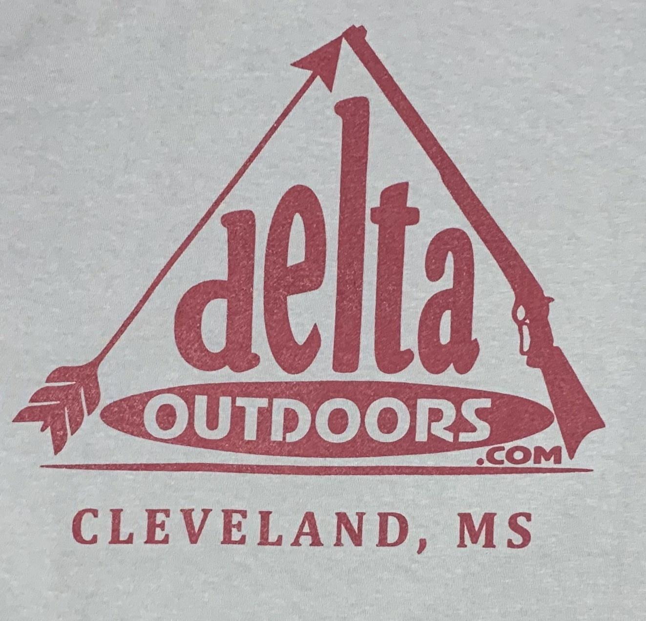 Delta Outdoors Grey/Maroon Long Sleeve-1