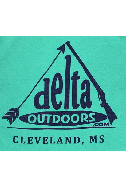 Delta Outdoors Island Green/Navy Long Sleeve