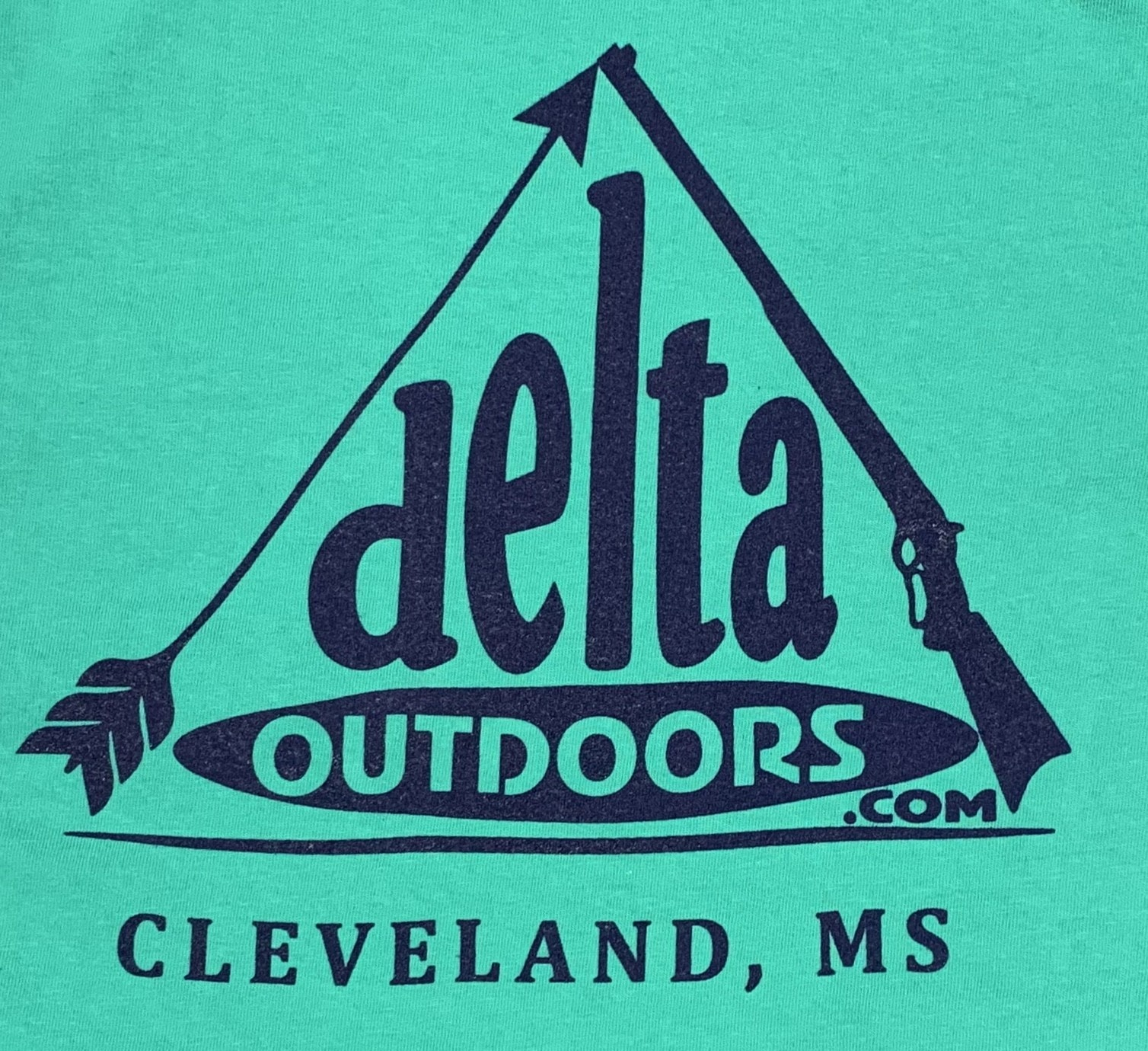 Delta Outdoors Island Green/Navy Long Sleeve-1