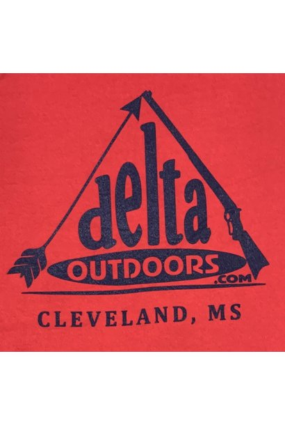 Delta Outdoors Red/Navy Long Sleeve
