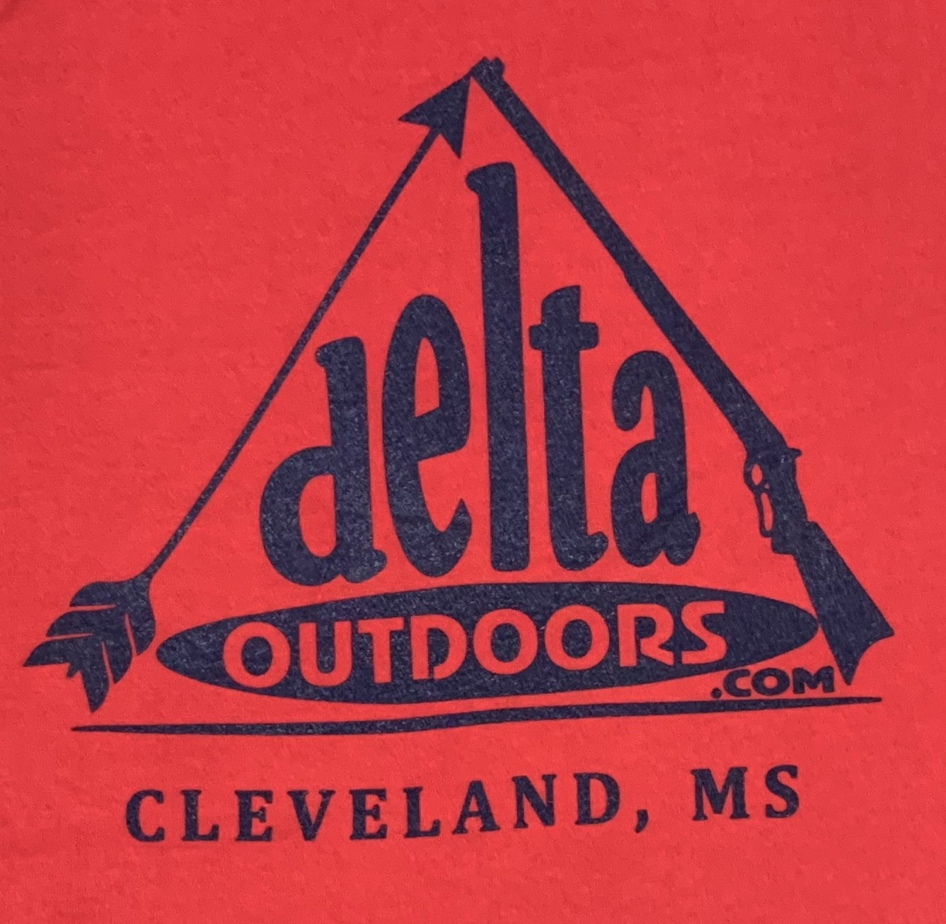 Delta Outdoors Red/Navy Long Sleeve-1