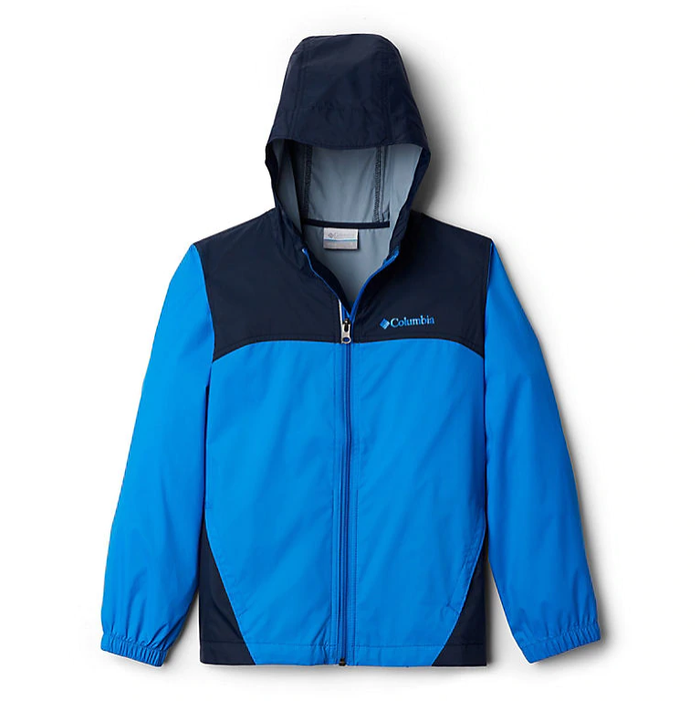 Glennaker Rain Jacket Hyper Blue Youth-1