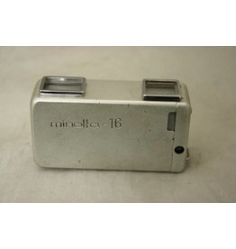 Konica Minolta Minolta 16 Subminiature Spy Camera w/ case (Pre-owned)