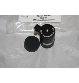 Orion Illuminated Double Cross Hair 12mm Kellner Reticle (Pre-owned)