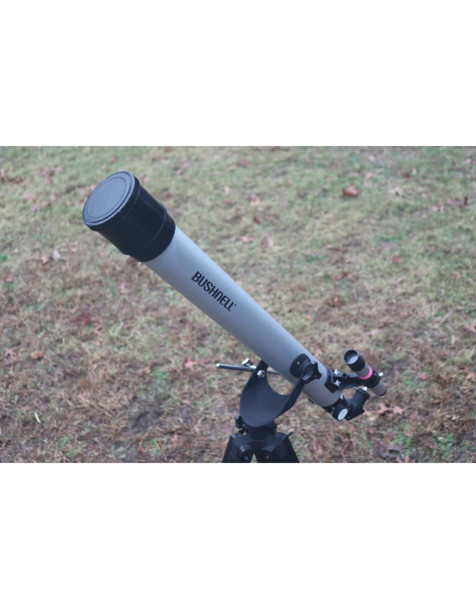 Bushnell #78-9514 60mm AZ Mount 700mm FL f11.7 with .965 diagonal, 5x25 (Pre-owned)