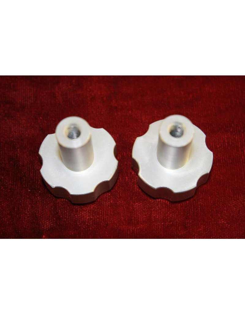 ADM ADM Threaded Knobs (1/4-20 Female) (Set of 2)