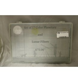 Set of 17 Color Planetary & Lunar Filters (Pre-owned)