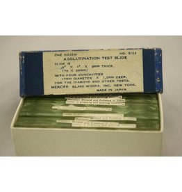 Agglutination Test Slide with Four Concavities (Sold Individually)