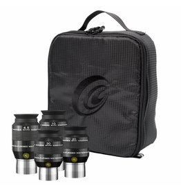 Explore Scientific Explore Scientific 4.5, 10, 20 and 30mm Argon-Purged Waterproof Eyepiece 52° Set with soft case - Available 8/1/18