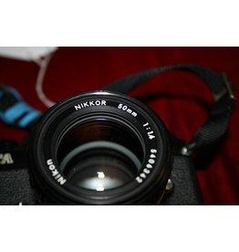 Nikon Nikon FA 35mm SLR Film Camera w/Ai-s 50mm F1.4 (Pre-owned)
