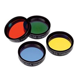 "Orion 1.25"" Basic Set of Four Color Filters #05514 (Pre-owned)"