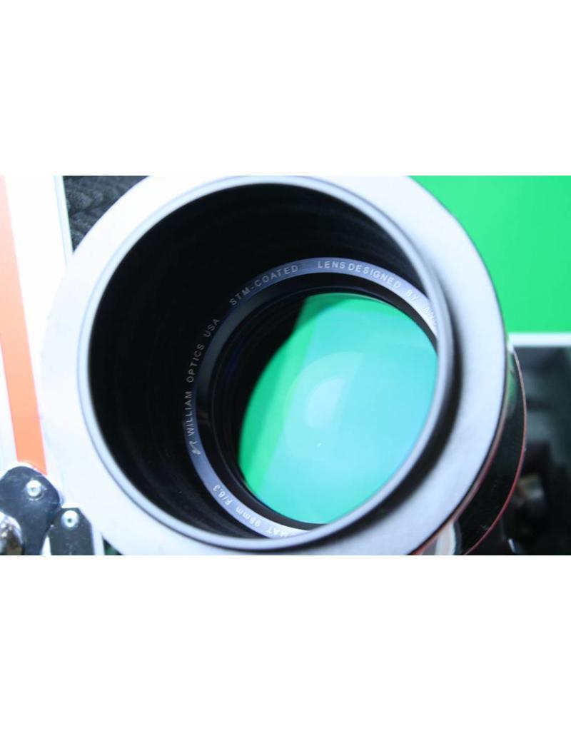 William Optics William Optics FLT98 f6.3 Fluorostar Triplet APO (Carbon Fiber)with case (Pre-owned)