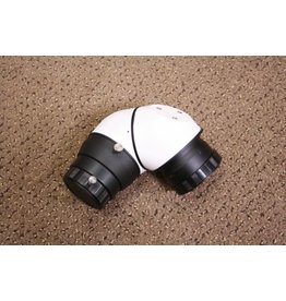 "Hutech Matsumoto EMS-1 Erecting mirror diagonal (White) for 2"" Drawtube and 1.25"" eyepieces (Single)"