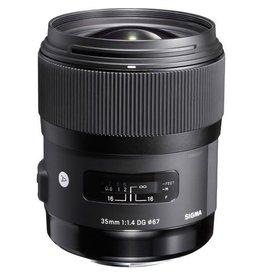 Sigma Sigma 35mm f1.4 Art DG (Specify Mount Type)