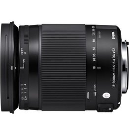 Sigma Sigma 18-300mm 3.5-6.3 Contemporary DC Macro OS HSM (Specify Mount Type)