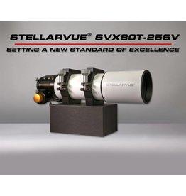 Stellarvue Stellarvue SVX080T-25SV Premier Apochromatic Triplet Refractor