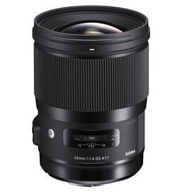 Sigma Sigma 28mm f/1.4 DG HSM Art Lens (Specify Mount Type)