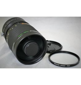 Spiratone 500mm f8 Mirror Lens (T mount) with 2x Teleconverter & 72mm UV JAPAN (Pre-owned)