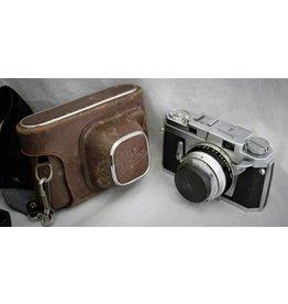 "Nikon Konishiroku ""Konica III"" w/Hexanon 48mm 1:2 (Shutter not working)"