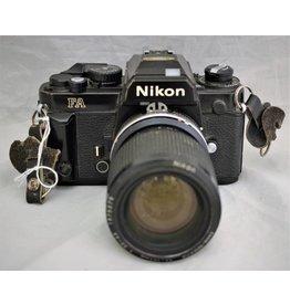 Nikon Nikon FA 35mm SLR Film Camera w/35-105mm F3.5-4.5(Pre-owned)