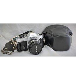 Nikon FG with 50mm 1.8 E & case