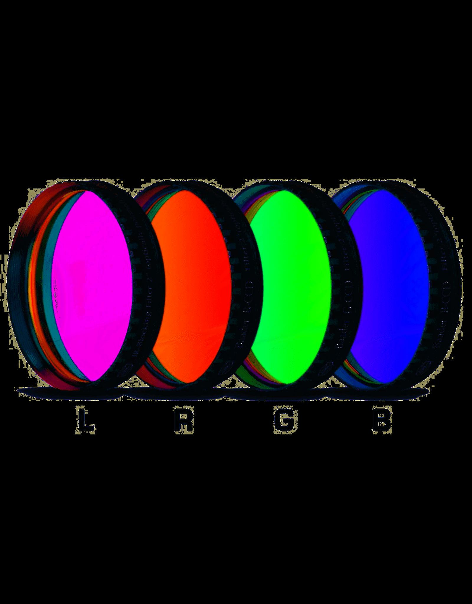 "Baader Planetarium Baader LRGB Filter Set 2"" with UV/IR Cut L-Filter (Optically Polished)"