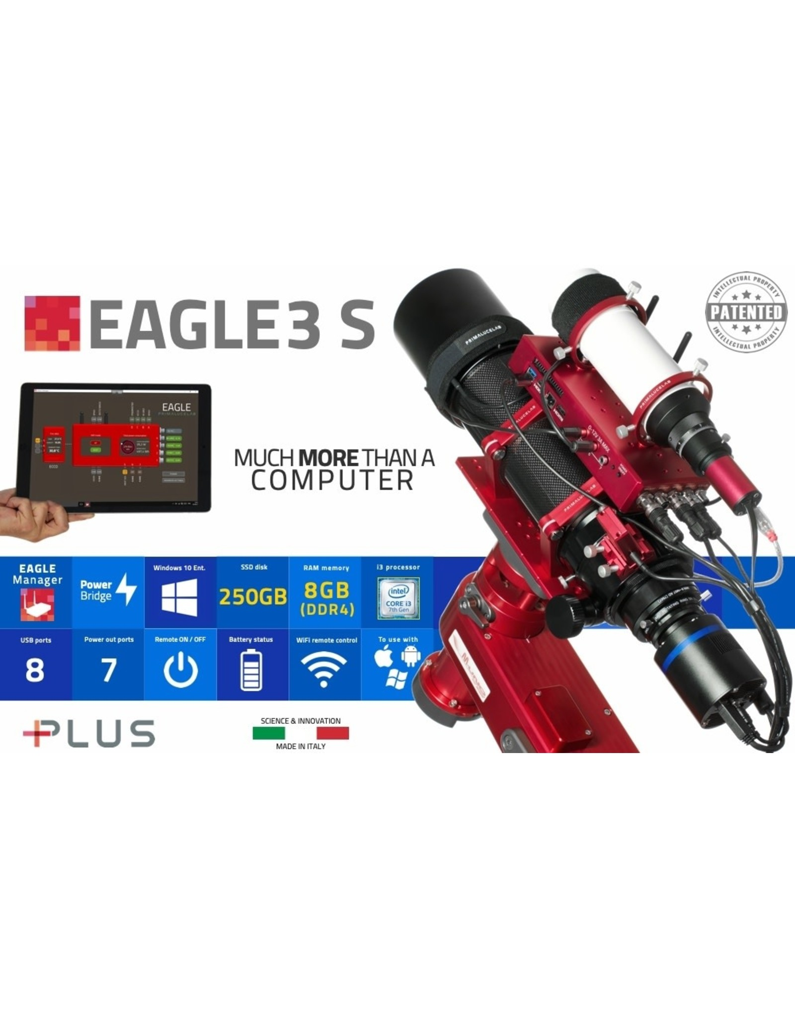 PrimaLuceLab EAGLE 3Q control unit for telescopes and astrophotography