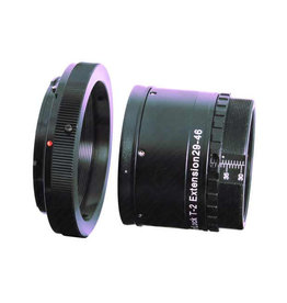 Baader Planetarium Baader VariLock 46 T2 Variable Extension Tube - 29 mm - 46 mm