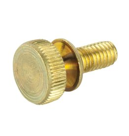 "Brass Knurled Thumbscrews 10-32 x 3/4"" (pack of 2)"