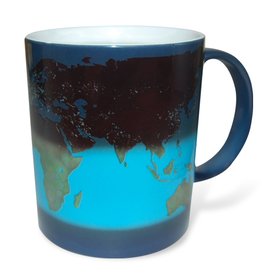 Night to Day Satellite Mug (single)