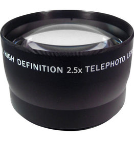 Zeikos Pro HD 2.5X Telephoto (58mm)