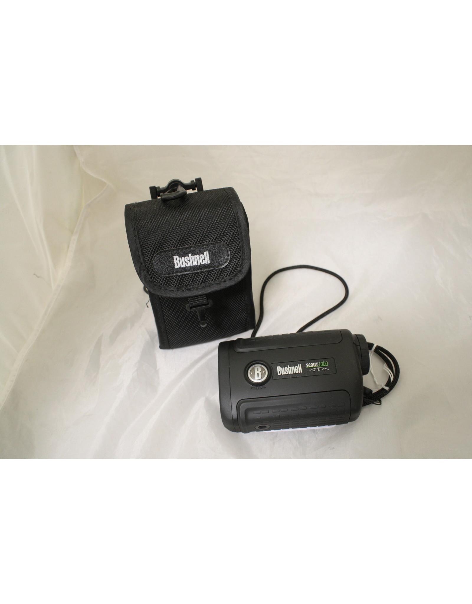 Bushnell Bushnell Scout DX 1000 ARC 6x Magnification 1000 Yard Laser Rangefinder, Black (DISPLAY-NO BOX)
