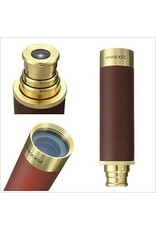 25X30 Zoomable Spyglass Pirate Brass Telescope Collapsible Handheld Monocular