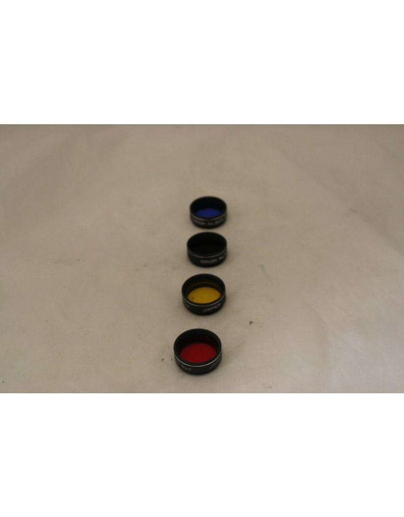 """Orion Orion Set of 4 .965"""" Filters (58, 80A, 15, & 25A)"""