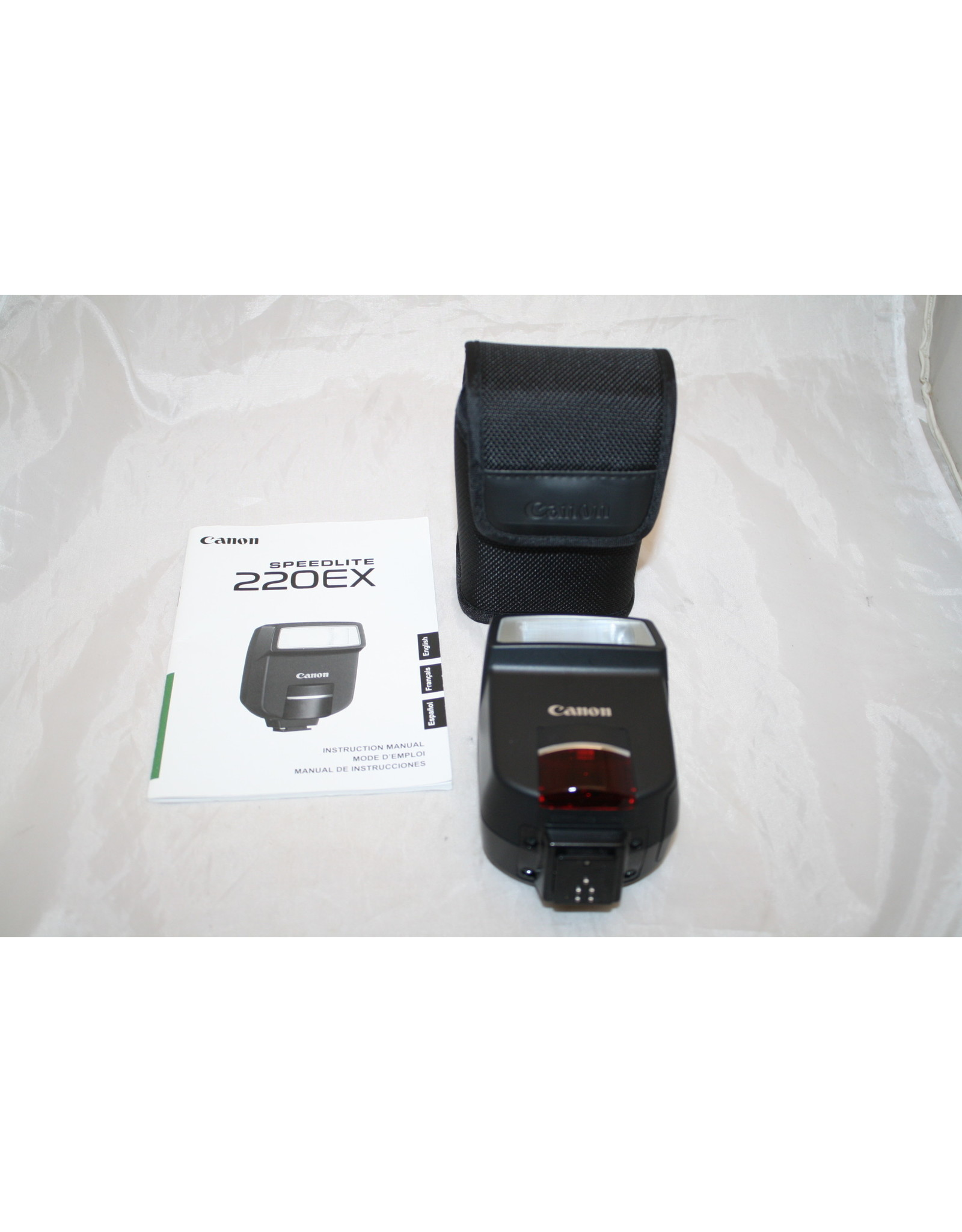 Canon Speedlite 220EX Shoe Mount Flash