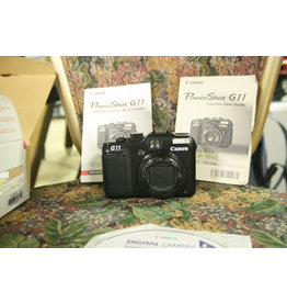 Canon Canon Powershot G11 10mp  5x Digital Camera with case & two batteries (Pre-owned)