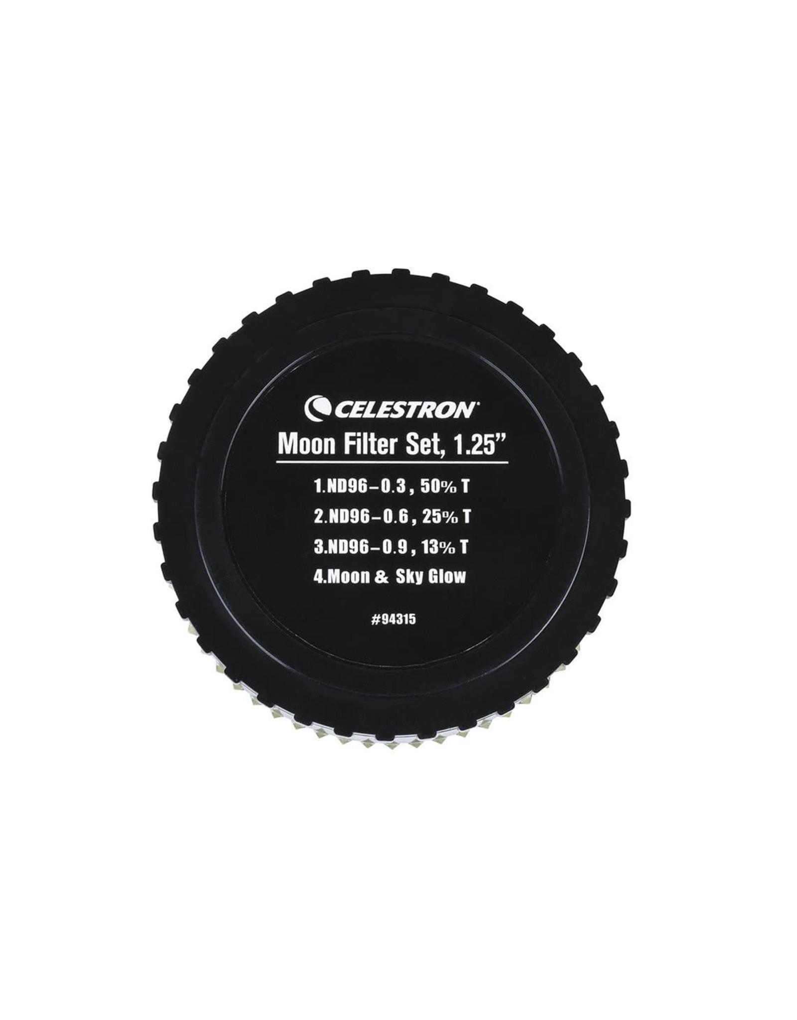 "Celestron Celestron Moon Filter Set 1.25"""