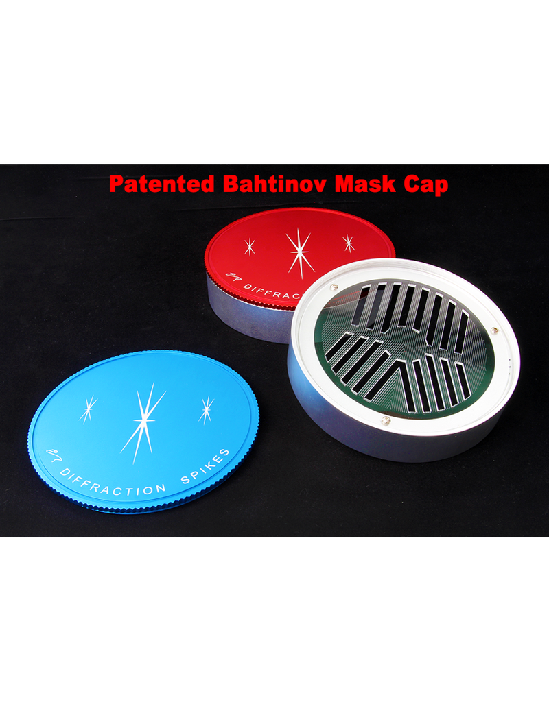 William Optics William Optics Diffraction Spikes Bahtinov Mask for Takahashi FSQ106 in Red or Blue Color - CPBM-TH106RS