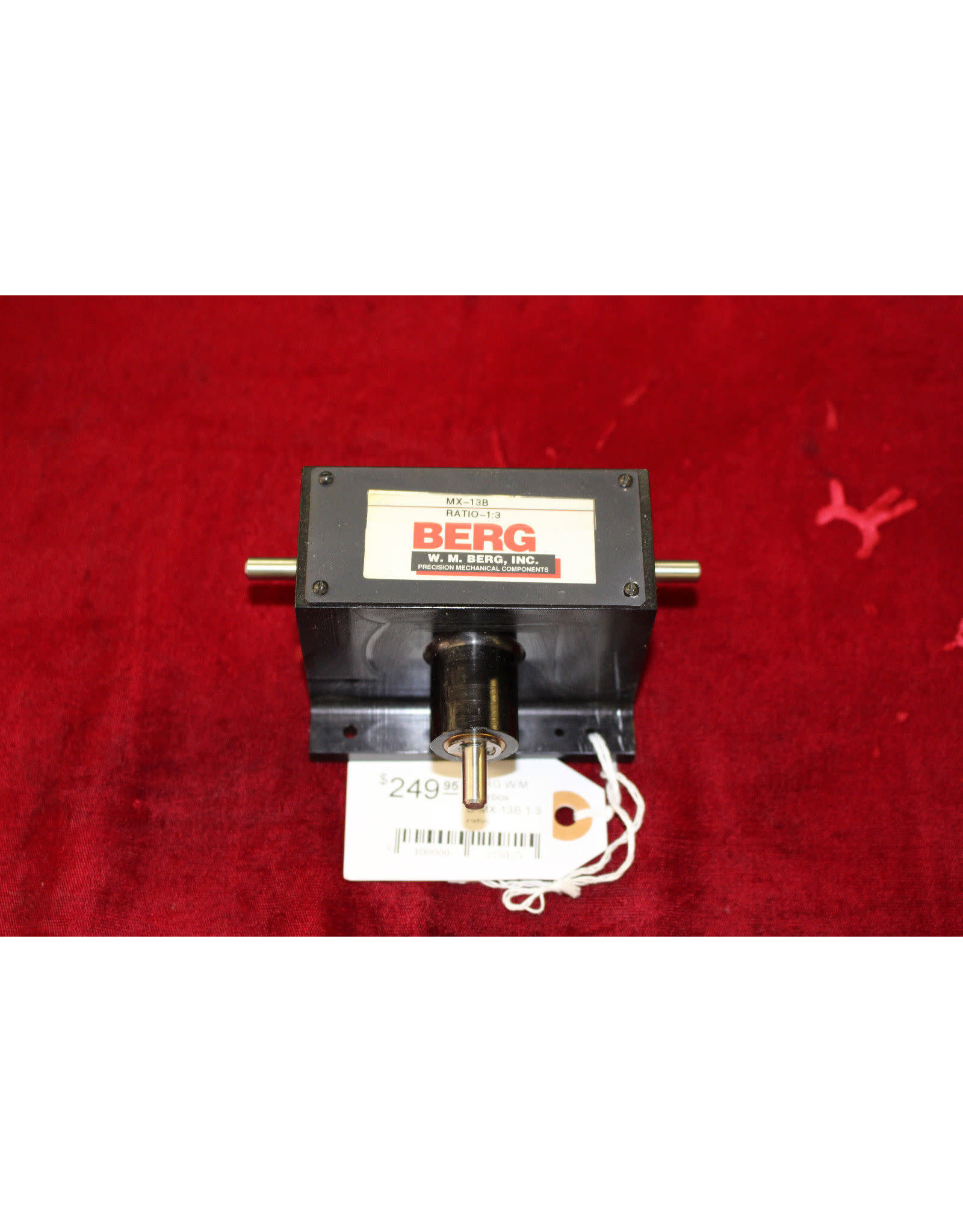 BERG W.M gearbox B-MX-13B 1:3 ratio