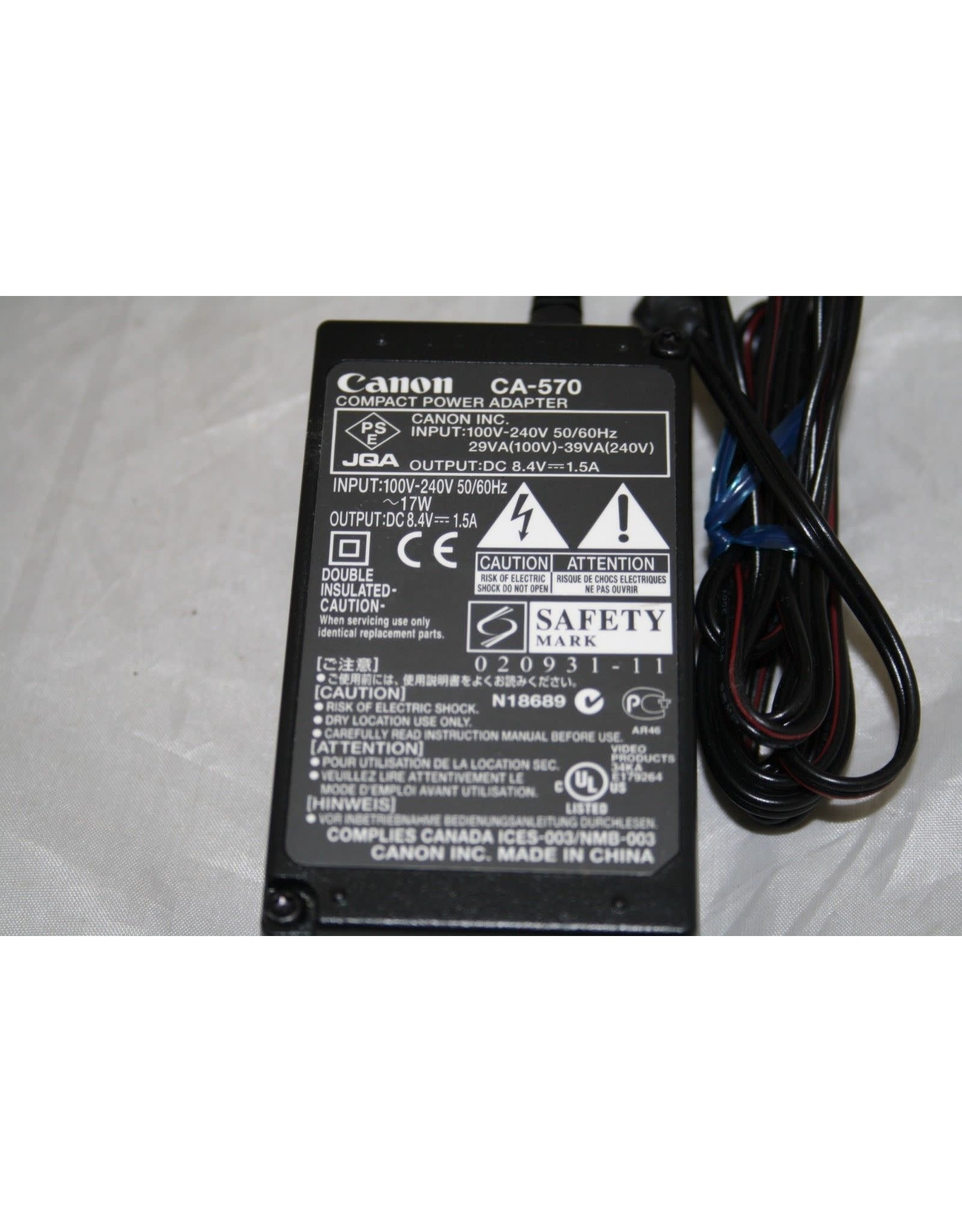 Canon CA570 AC Adapter Original OEM (Pre-owned)
